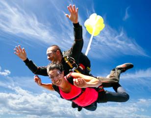 Saut en parachute tandem Aubenas